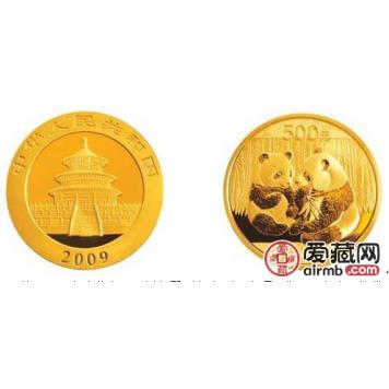 2009年一公斤熊猫金币价格及图片