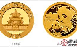 2019年熊猫金币套装2019年金套猫