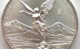 墨西哥自由女神银币图文解析