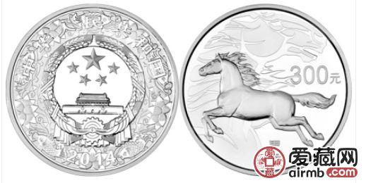 2014马年1公斤圆形银质纪念币简介及波多野结衣番号价值