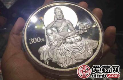 2003版观音贵金属纪念币