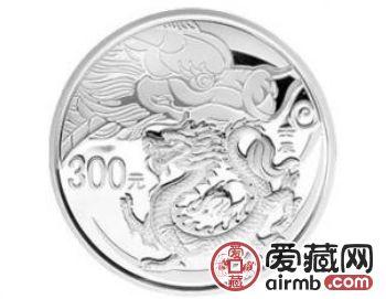 2012龙年1公斤圆形本色银币图文解析