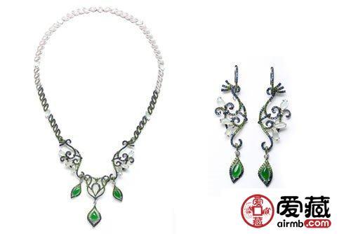 翡翠珠宝之七彩云南孔雀系列