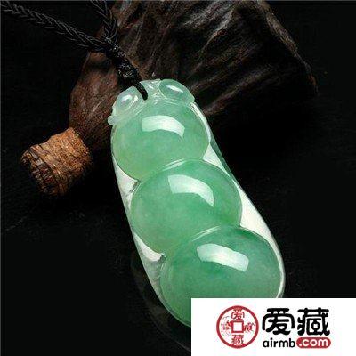 四季豆翡翠吊坠的寓意是什么,佩戴四季豆翡翠吊坠有什么意义