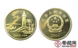 臺灣鵝鑾鼻(二組)紀念幣價格