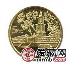 台湾敬字亭(三组)纪念币彰显宝岛文化