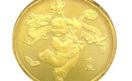 2012(龙)年贺岁纪念币图片及收藏价值