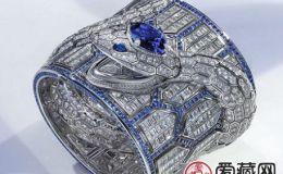 搭配蓝宝石和钻石的高级珠宝腕表,宝格丽的又一新作