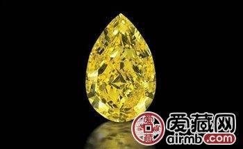 重522克拉 如鸡蛋大小的北美最大钻石