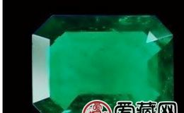 世上最大正方形祖母绿切割钻石
