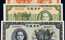 民国纸币收藏价值不菲!民国纸币投资行情分析