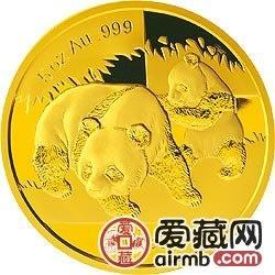 2009年5盎司熊猫金币受到收藏者和投资者的爱好,喜欢的要早日出