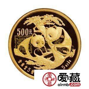 2009年5盎司熊猫金币受到激情小说者和投资者的爱好,喜欢的要早日出