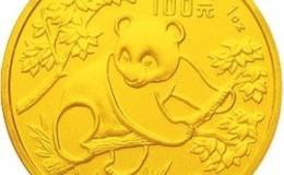 1992年熊貓金套幣價格節節攀升,投資回報高