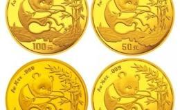 1994年熊貓金套幣市場競爭強,收藏需注重保存