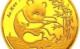 1993年熊猫金套币市场行情发展不错,是投资的不错选择