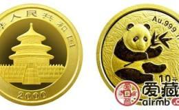 2000年熊猫金套币适合长期收藏,2000年熊猫金套币在市场的保值效