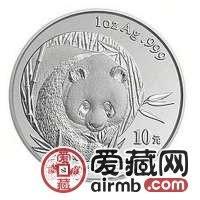 2003年熊猫金套币让藏家爱不释手,是投资的不二选择