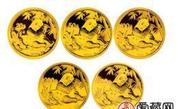 2007年熊猫金套币有价无市,收藏价值稳步上升