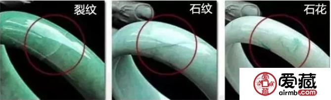 翡翠的石纹、裂纹是什么 如何区分翡翠的石纹与裂纹