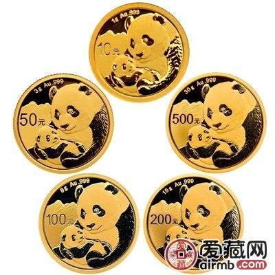 2019年熊猫金套币价格如何,收藏亮点有哪些