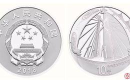 港珠澳大桥通车纪念银币行情大跌