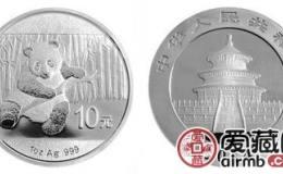 1984年熊猫1盎司银币价格直涨,收藏价值高