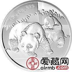 2008年1公斤熊貓銀幣有廣闊的漲價空間,在市場及其被看好