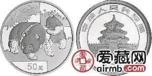 2008年熊猫5盎司银币价格稳步上升,建议长期持有