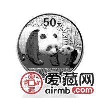2011年熊貓5盎司銀幣在收藏價值高,在市場如魚得水