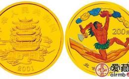 2001年盘古开天彩色金币融入了深远的文化意义,未来收益被众多藏