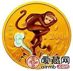 2003年猴王出世彩色金币升值潜力大,有望成为收藏市场的重点藏品