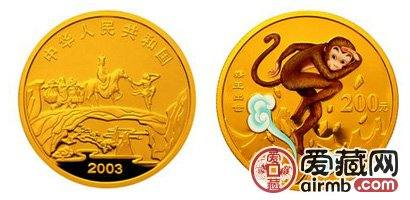 2003年猴王出世彩色金币升值潜力大,有望成为激情电影市场的重点藏品