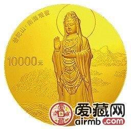 普陀山1公斤金币主题突出,将成为市场热门品种之一