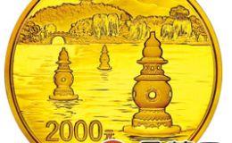 西湖5盎司金幣鑒賞價值高,西湖5盎司金幣的發行對市場起到了推動