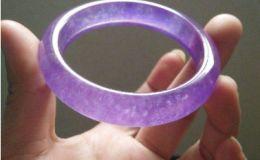 紫罗兰翡翠手镯的价格怎么样 一般多少钱