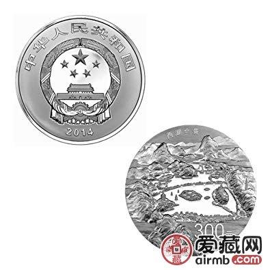 2014年西湖公斤银币为什么受到藏家喜爱,又有哪些不一样的特点?