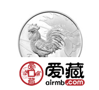 2017年鸡年公斤银币未来升值空间不会让人失望