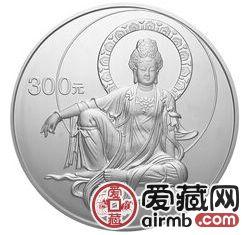 2003年观音公斤银币价格不停上涨,受到大家欢迎