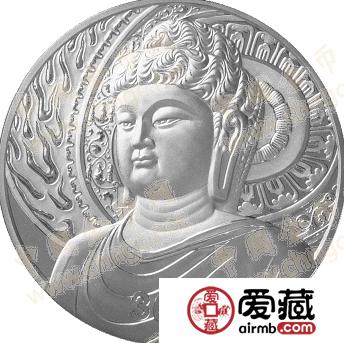 2003年龙门石窟公斤银币市场价格稳定,不会出现过大波动