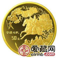 三国1/2盎司金套币背后的发行意义及发行规格介绍