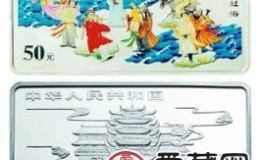 中国古代神话故事八仙过海5盎司彩银币意义特殊,受到广大群众的