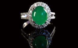 滿綠翡翠戒指價格就一定很昂貴嗎