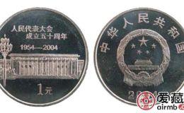 全國人大成立50周年紀念幣價格走勢良好,是投資的不錯選擇