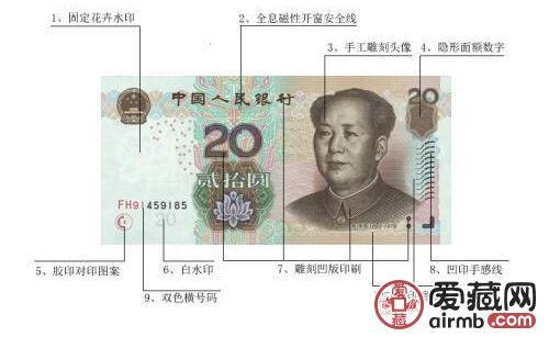 第五套人民幣20元背面圖案景點介紹 真實版美不美?