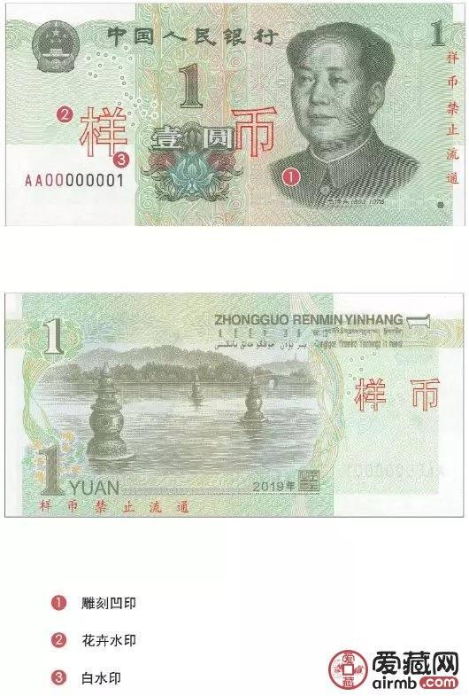 2019版第五套人民幣防偽特征 一秒鑒定真假圖文祥解