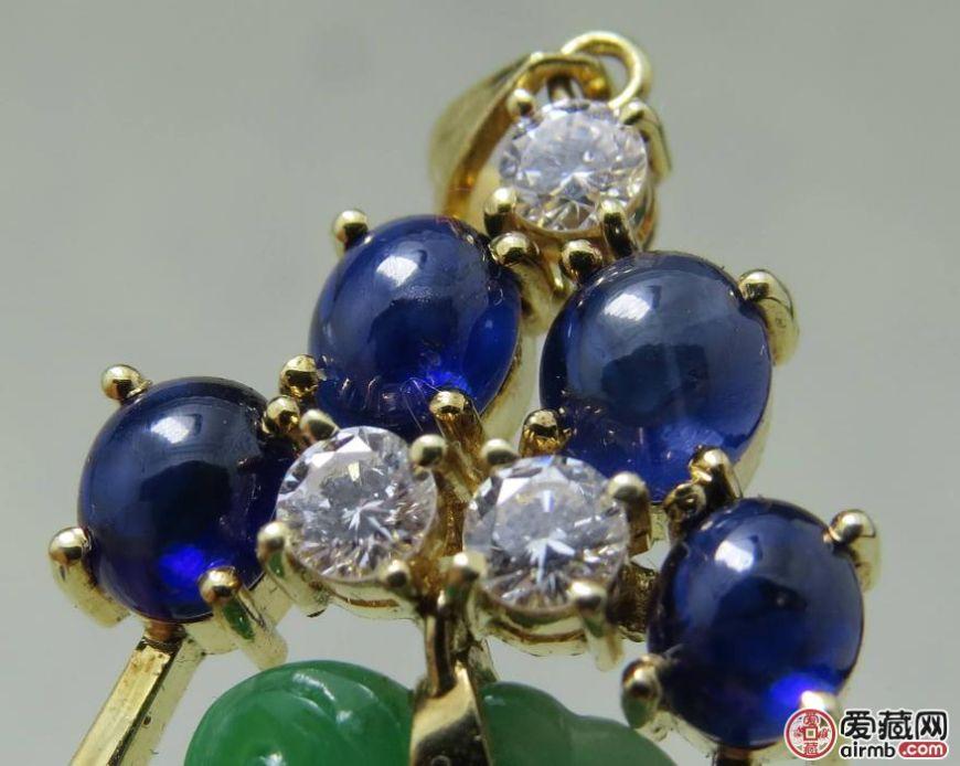 珠宝行业揭秘:蓝宝石的收藏价值真的不如翡翠吗