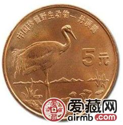 丹頂鶴特種紀念幣存世量少,是收藏明智的選擇