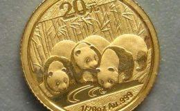 中国熊猫金币价格