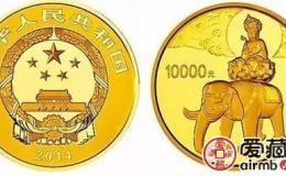峨眉山1公斤金幣重現了佛教文化的魅力,市場價格持續上漲